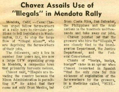 screenshot el malcriado chavez assails use of illegal aliens mendota valley 1974