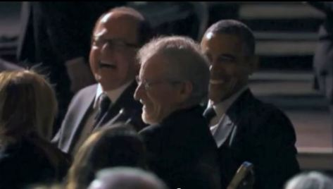 screenshot obama steven spielberg fundraiser