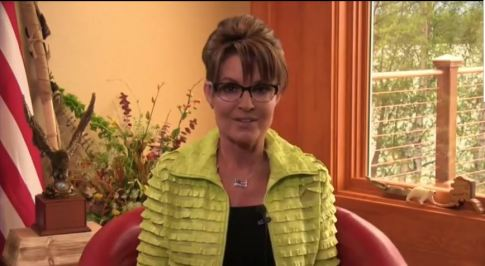 screenshot Sarah Palin Calls for Obama's Impeachment 07082014