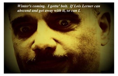 Be funky Eric Holder 002