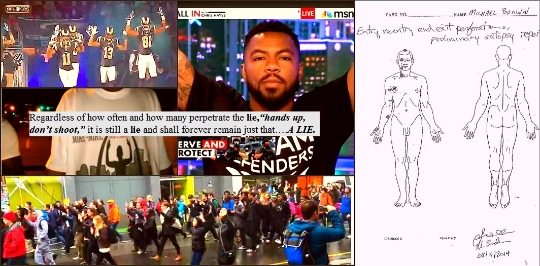 BeFunky_Stand up don't shoot myth perpetrated en masse Michael Brown perpetrating the lie en masse