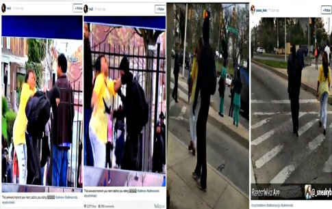 Baltimore mom takes matters into her own hands after catching son rioting (Screenshots) 04272015
