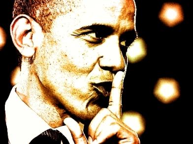 Barack Obama Shhhh Edited