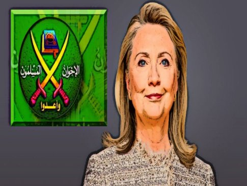 BEFUNKY screenshot hillary clinton 002 EDITED MUSLIM BROTHERHOOD LOGO.