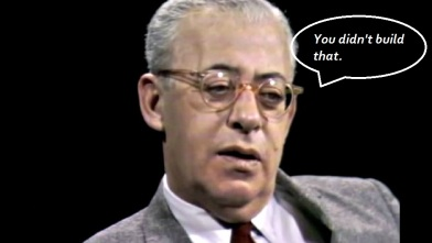 BEFUNKY screenshot Saul Alinsky from 1967 interview with William Buckley edited you didn't build that