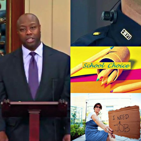 BEFUNKY Senator Tim Scott Collage