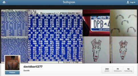 Header David Baril Instagram Page