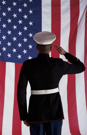 Salute Military Flag