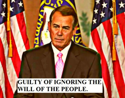 BEFUNKY screenshotjohnboehner002 ignoring the will of the people