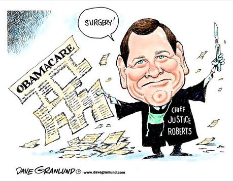 Image result for justice john roberts obamacare quote