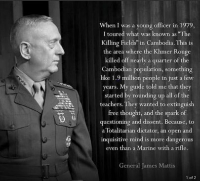 general james mattis quote