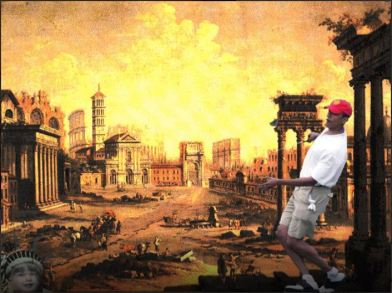 screenshot Barack Obama Rome burning
