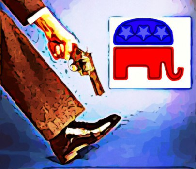 BE FUNKY RepublicanPartytoshootselfinfoot