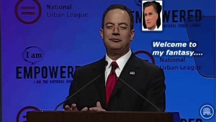 BE FUNKY rnc chair rience priebus mitt romney fantasy