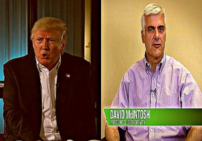 donald trump david m mcintosh club for growth PAC