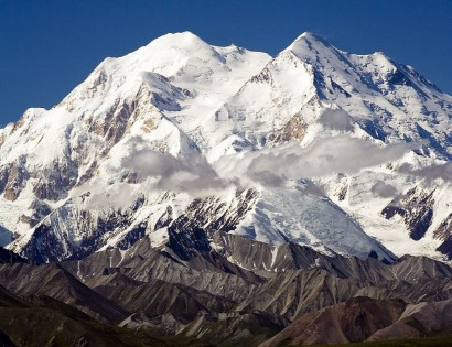 Mt McKinley Alaska renamed Dinali Mountain wikimedia commons public domain