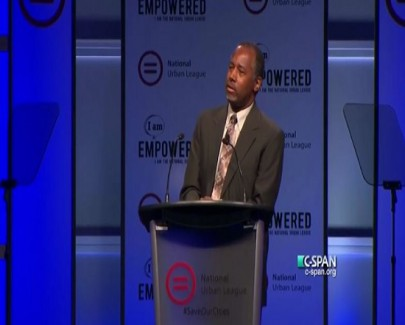 screenshot dr benjamin carson 2015 national urban league conference