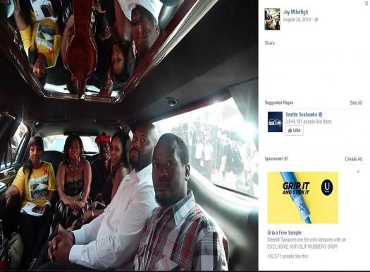 Joseph Thomas Johnson-Shanks aka Jay MileHigh Missouri supporter of Black Lives Matter and Michael Brown Facebook 003