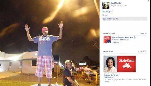 Joseph Thomas Johnson-Shanks aka Jay MileHigh Missouri supporter of Black Lives Matter and Michael Brown Facebook 004