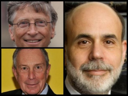 michael bloomberg Bill Gates and Benjamin Bernanke_Fotor_Collage