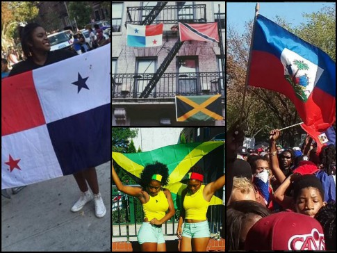 West Indian Day Parade 2015 Every Flag but the American Flag collage