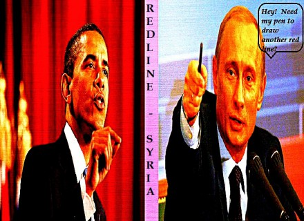 barack obama vladimir putin barack's red line turns pink_Fotor