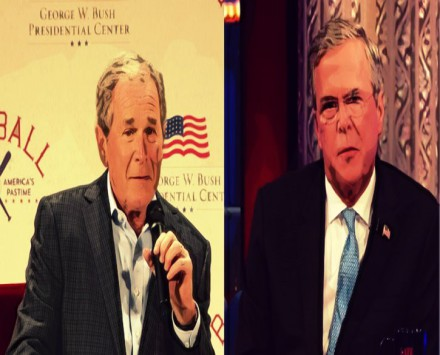 BEFUNKY George Bush Jeb Bush