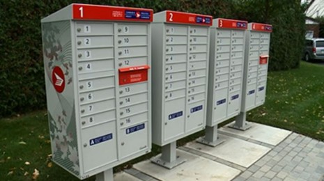 Canada's mailboxes