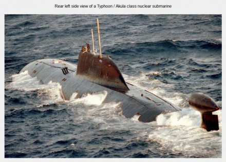 Dmitri Donskoy TK-208 worlds largest submarine despatched by Putin to Syria October 2015