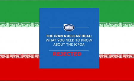 IRAN nuclear deal rejected