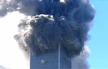 screenshot 911 attack one wtc collapse