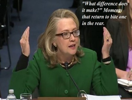 screenshot hillary clinton benghazi hearing what difference does it make