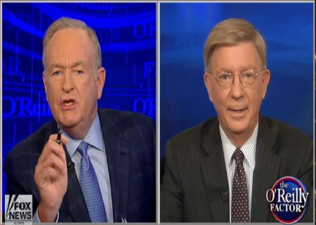 bill o'reilly george will shoot it out over bill's book killing reagan 002