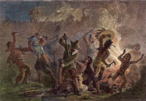Pequot Indian War - Revisionist Thanksgiving