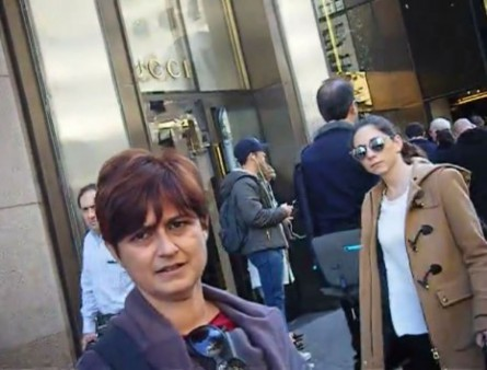screenshot french press interviews nyice early november 2015 in front of trump tower