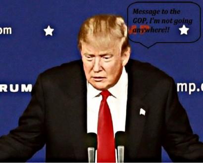 BEFUNKY Donald Trump Staying Put