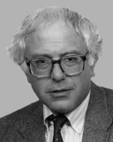 Bernie Sanders, 1991. Source: Wikipedia.