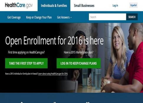 healthcare.gov 2016 site screenshot 540 x 391
