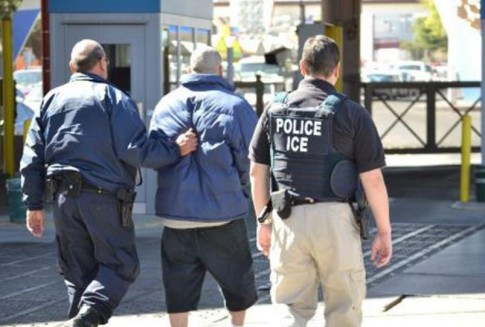 ICE's Enforcement and Removal Operations  deport Mexican homicide suspect Servando Calvillo-Armenta to Mexican law enforcement authorities Port of Entry in Nogales, Arizona