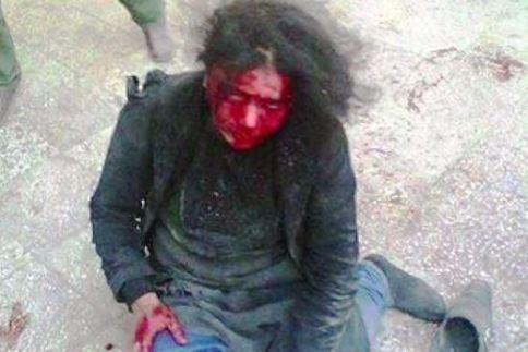 screenshot afghanistan woman slaughtered for allegedly burning koran