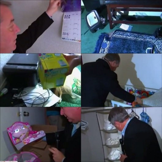 screenshot nbc reporter RUMMAGING  through san bernardino jihadists apartment 006_Fotor_Collage EDITED