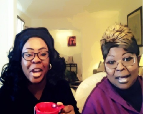 BEFUNKY diamond and silk discuss sarah palin donald trump ted cruz the oscars screenshot 002
