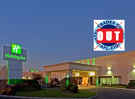 Holiday Inn Carteret New Jersey EMPLOYEES WANT UNION OUT
