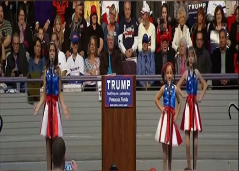 the freedom kids at donald trump rally florida 1142016