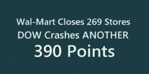 walmart closings dow crashes 1152016