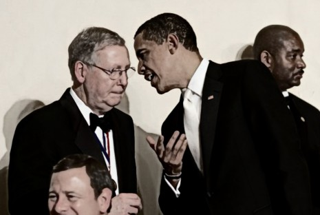 BEFUNKY barack obama mitch mcconnell alfalfa dinner 2009 flickr cropped
