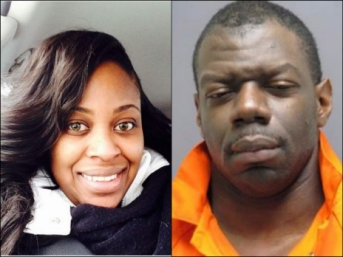 Crystal Hamilton (l) deceased; Ronald Hamilton (r) cop killer and wife killer may face the death penalty.