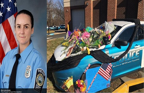 prince william county virginia police officer ashley guidon age 29 killed in the line of duty and cruiser