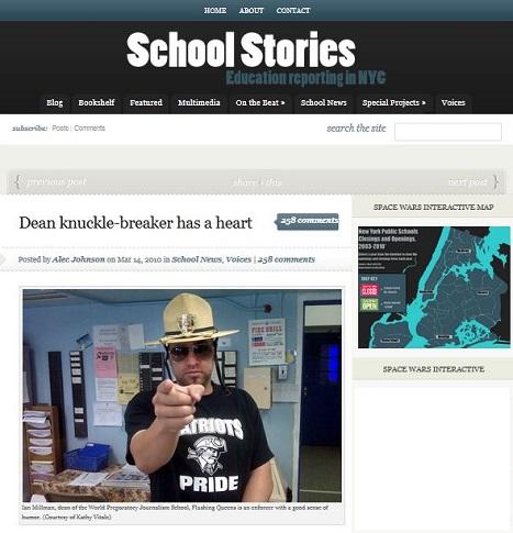 2011 article lauding school dean Ian Millman