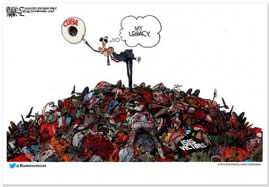 barack obama's legacy by cartoonist michael ramirez